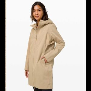 Lululemon Rain Rebel Jacket *Cotton Trench